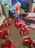 Sorting Kisses and Tube Containers